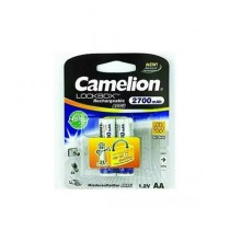 Camelion AA Rechargeable Battery 2700mAh Pack of 2