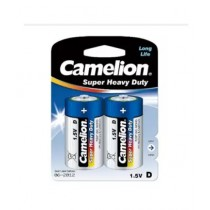 Camelion D Size Batteies Pack of 2