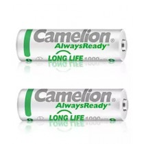 Camelion 1000mAh Always Ready Rechargeable AA Battery Pack of 2