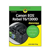 Canon EOS Rebel T6-1300D For Dummies Book