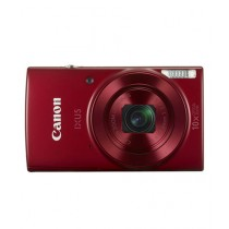 Canon Compact Digital Camera Red (IXUS-180)