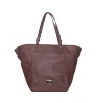 Caprese Hedda Tote Bag Plum