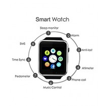 Caprio Nucleya Retail Smart Watch Black