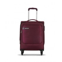 Carlton Hamilton 4 Wheel Soft Trolley Bag - Burgundy
