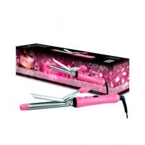 Carmen True Colours Hair Curling Tongs (Pink)