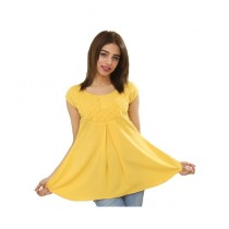 Carve Uptown Cap Sleeves Round Neck Girls Casual Top (CUP010)