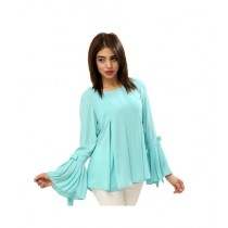 Carve Uptown Plain Round Neck Girls Casual Top (CUP002)