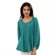 Carve Uptown Plain Round Neck Shirt For Women (CUP012)