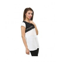 Carve Uptown Two Tones Round Neck Girls Casual Top (CUP008)