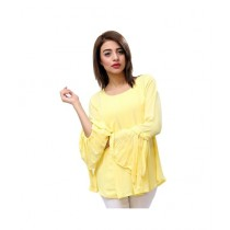 Carve Uptown Umbrella Sleeves Flowy Womens Casual Top (CUP001)