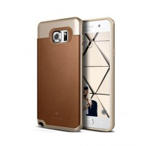 Caseology Envoy Series Case For Galaxy Note 5 Leather Brown