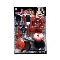 Afreeto Kitchen Toy Set For Kid 6 Pieces