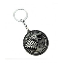 Afreeto Game of Thrones Keychain Silver