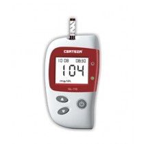 Certeza Blood Glucose Monitor With 10 Strips (GL-110)