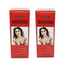 Viga 480000 Delay Spray For Men Pack Of 2