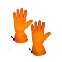 World of Promotions Fleece Hiking Gloves Orange