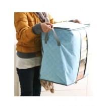 HR Business Folding Laundry Storage Bag Blue