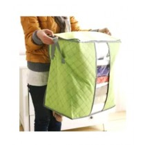 HR Business Folding Laundry Storage Bag Green