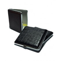 KuchB Leather Cigarette Case Black