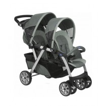 Chicco Together Twin Stroller Grey