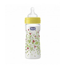 Chicco Wellbeing Silicone Bottle 250ml - 2M+ Unisex