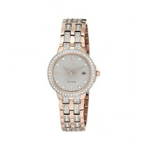 Citizen Eco-Drive Silhouette Crystal Women's Watch Rose Gold (EW2348-56A)