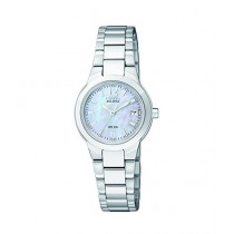 Citizen Eco-Drive Silhouette Women's Watch Silver (EW1670-59D)