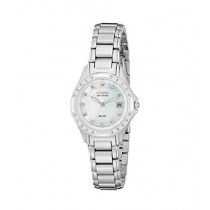 Citizen Eco-Drive Silhouette Women's Watch Silver (EW2130-51D)
