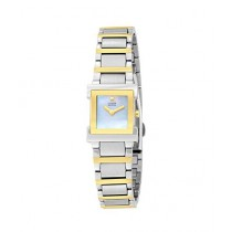 Citizen Eco-Drive Women's Watch Silver/Gold (EW9904-56D)