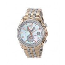 Citizen Eco-Drive World Time A-T Women's Watch Two Tone (FC0006-52D)