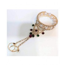 AR Boutique Ring Chain Bracelet For Women (0001)