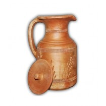 Clay Potter Elegant Design Clay Jug 2 Liters Capacity