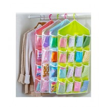 Click Shop Storage Bag 16 Grid Candy Color