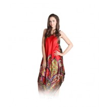 Clickbus Collection Long Nightgown Red