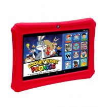 "ClickN Kids 7"" 16GB Learning Multitouch Tab Red"