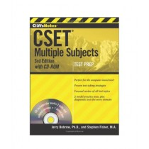 CliffsNotes CSET Multiple Subjects with CD-ROM Book 3rd Edition