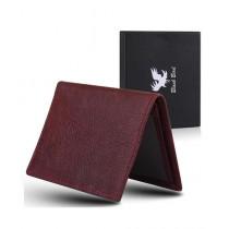 Blackbird Leathers Handmade Leather Wallets For Men Maroon (0005)