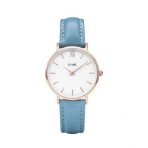 CLUSE Minuit Limited Edition Quartz Women's Watch Blue (CL30046)