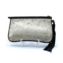 Uroosa Cow Hide Clutch Multicolor (004)