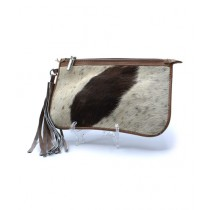 Uroosa Cow Hide Clutch Multicolor (006)