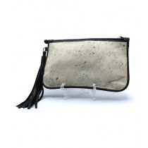 Uroosa Cow Hide Clutch Multicolor (007)
