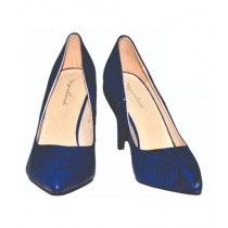Colt Shoes Small Heel Shoes For Women - Blue