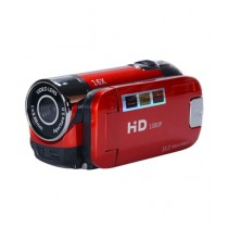 Consult Inn 16X Zoom Digital Video Camcorder TFT LCD Red 16MP (0285)
