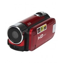 Consult Inn 16X Zoom Digital Video Camcorder TFT LCD Red 16MP