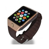 Consult Inn DZ09 Bluetooth Smart Watch Brown