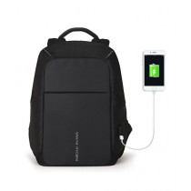Consult Inn Anti-theft Backpack With USB Charging Port Black