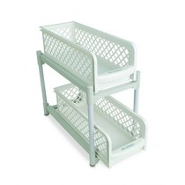Consult Inn Portable 2 Tier Basket Drawers