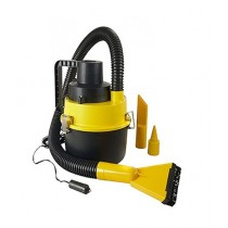 Consult Inn Portable Car Vacuum Cleaner Yellow