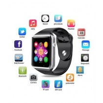 Cool Boy Mart A1 Sports Bluetooth Smart Watch Black