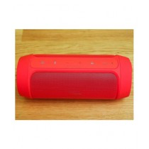 Cool Boy Mart Charge 2+ Splashproof Portable Bluetooth Speaker Red